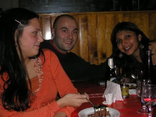 Elsa, Mathias et Anna Milena