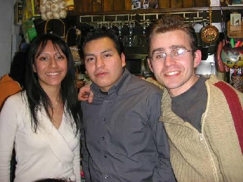 Julia,Carlos et Gildas
