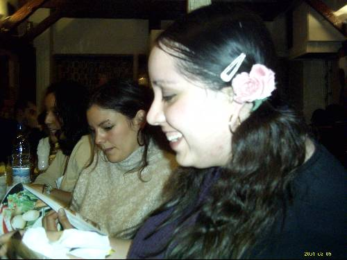 Marie-Eve et Laura du Chili