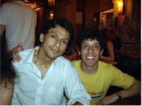 Viva Colombia!!! Esteban et Nico!