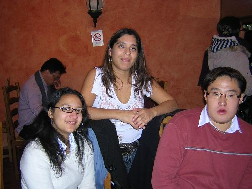 Cécile, Céline et Alexis