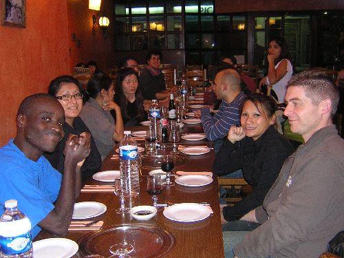 Une jolie table Coréenne...