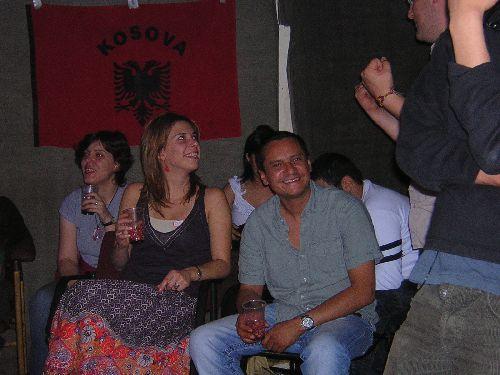 Valbona, Anne-Laure et Antoine