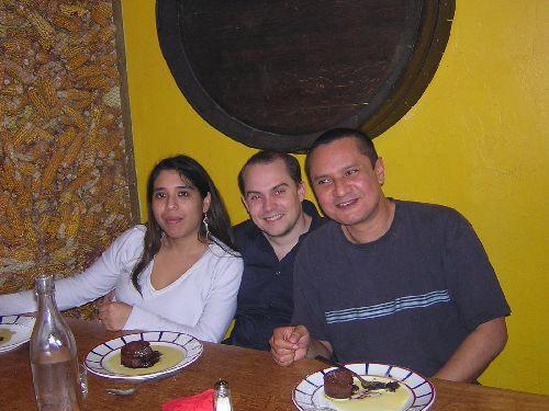 Céline, Kévin et Antoine