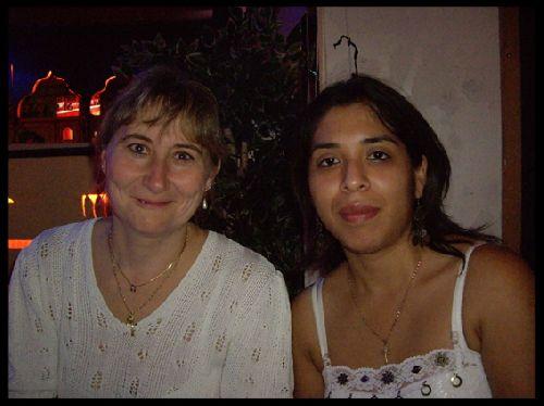 Isabelle (maman melissa) & Céline (Pérou)