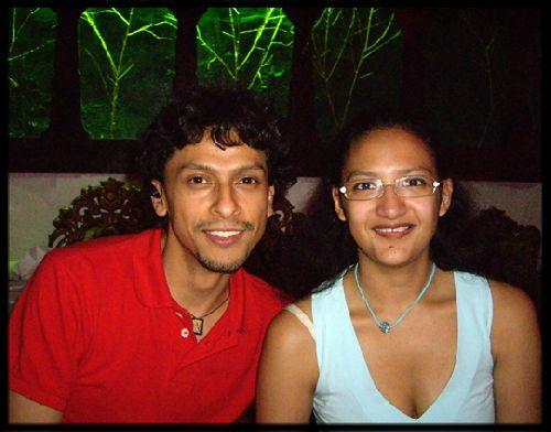 Esteban (colombie) & Cécile (colombie)