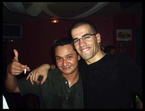 Antoine & Guilherme au Play Lounge