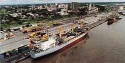 Douala port