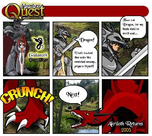Arkiloth VS Galanoth