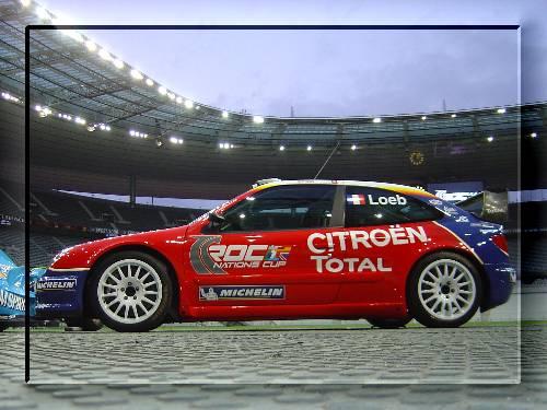 La Citroën Xsara (The Race of Champions / Stade de France 2005)