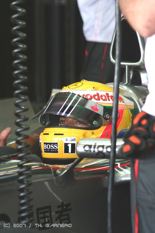 Lewis Hamilton (F1 / HTTT Paul Ricard 2007)