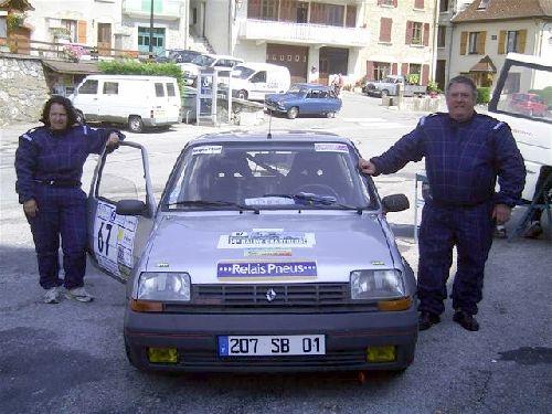 Marinette & Philippe Le-Bail (Rallye de la Chartreuse 2007)