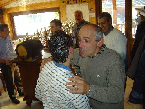 Michel Clavel (Remise des Prix de la CRK / Mercurol 2007)