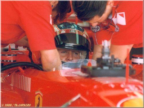 Michaël Schumacher (Test FIA / Magny-Cours 1999)