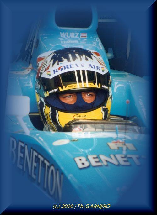 Alexander Wurz (Test FIA / Magny-Cours 2000)