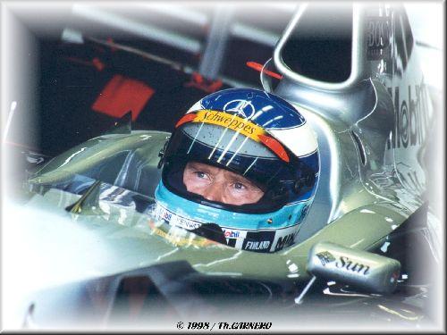 Mika Häkkinen (Test FIA / Magny-Cours 1998)