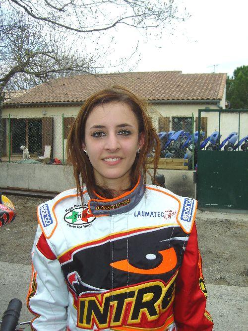 Sarah s'impose en X30 (Avril 2008