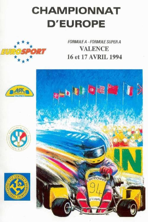 Championnat d'Europe (Valence 1994)