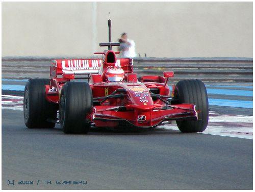 Kimi Raïkonnen (Test FIA / Circuit Paul Ricard 2008)