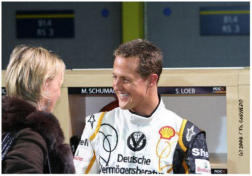 Michaël Schumacher (Race Of Champions / Wembley 2008)