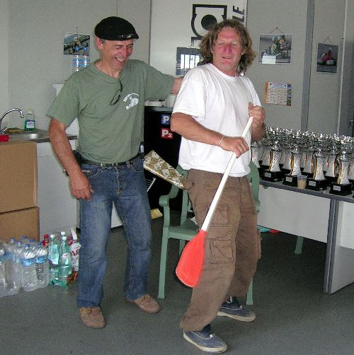 Michel Clavel & Claude Barbe (Lyon 2008 - Photo Marie-Claire Giboux)