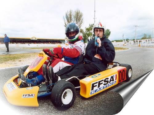 Commentaires embarqués (Grand Prix FFSA 2000 / Photo Tino Cacopardo)