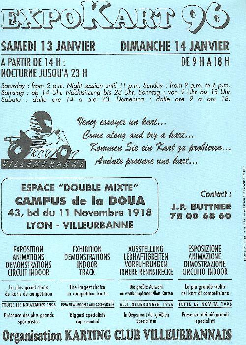 Expokart 1996 / Photo AsK Villeurbanne