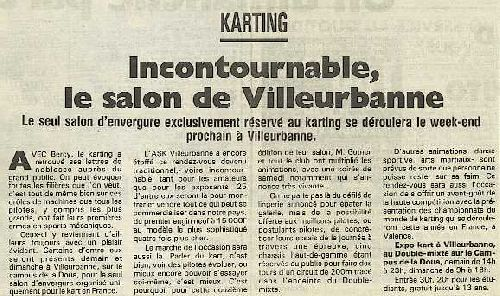 Expokart 1995 / Photo AsK Villeurbanne