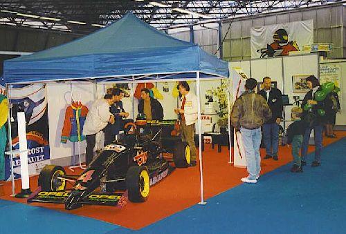 Les allées du salon  (Expokart 1995 / Photo AsK Villeurbanne)