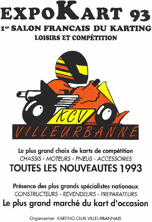 Expokart 1993 / Photo AsK Villeurbanne