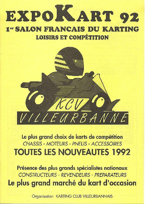 Expokart 1992 / Photo AsK Villeurbanne