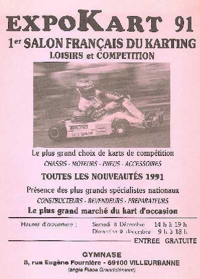 Expokart 1991 / Photo AsK Villeurbanne