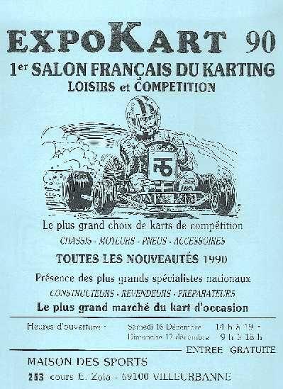 Expokart 1990 / Photo AsK Villeurbanne
