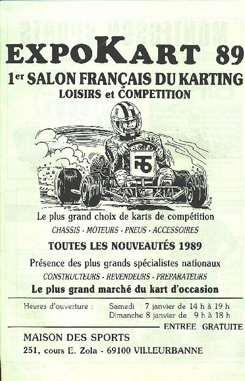 Expokart 1989 / Photo AsK Villeurbanne