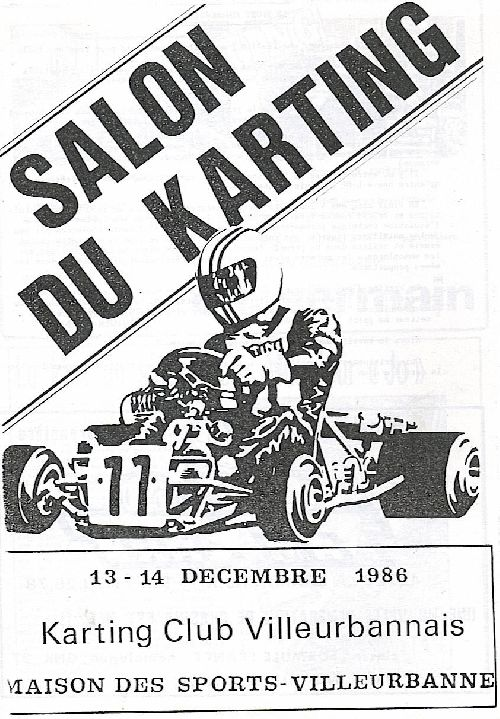 Expokart 1986 / Photo AsK Villeurbanne
