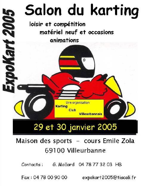 Salon ExpoKart (Villeurbanne 2005)