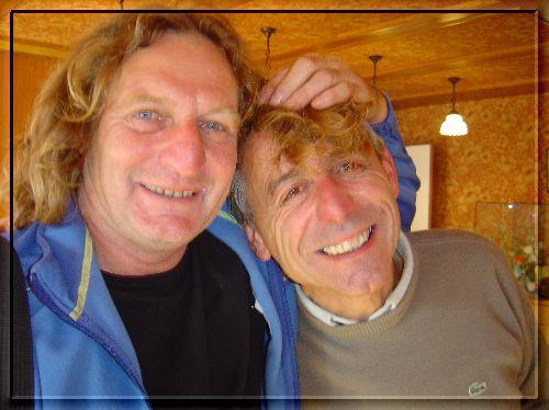 Claude Barbe & Michel Clavel (Remise des Prix de la CRK / Sillingy 2006)
