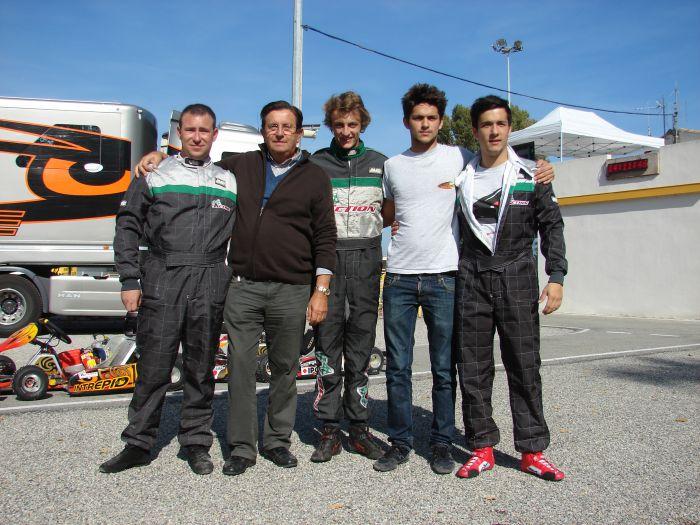 Le Team ACTION-KARTING (Les 6 Heures de France 2011 / La Roche-de-Glun)