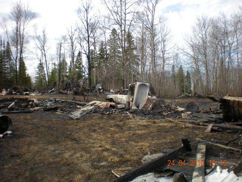 Incendie majeur a Dupuy,23 Avril 2010