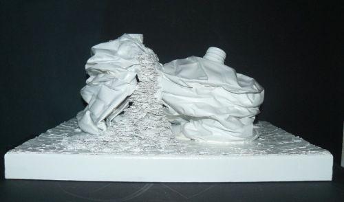 3.7.21/10- sculpture. silhouettes