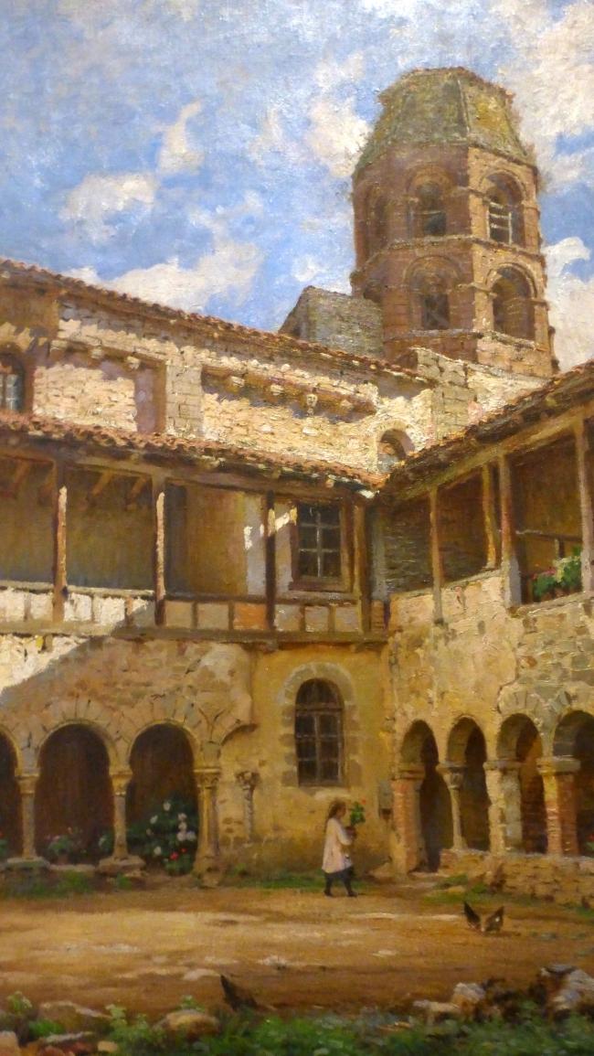 claitre de l'abbaye de saint andré lavaudieu 1918 coll part.JPG