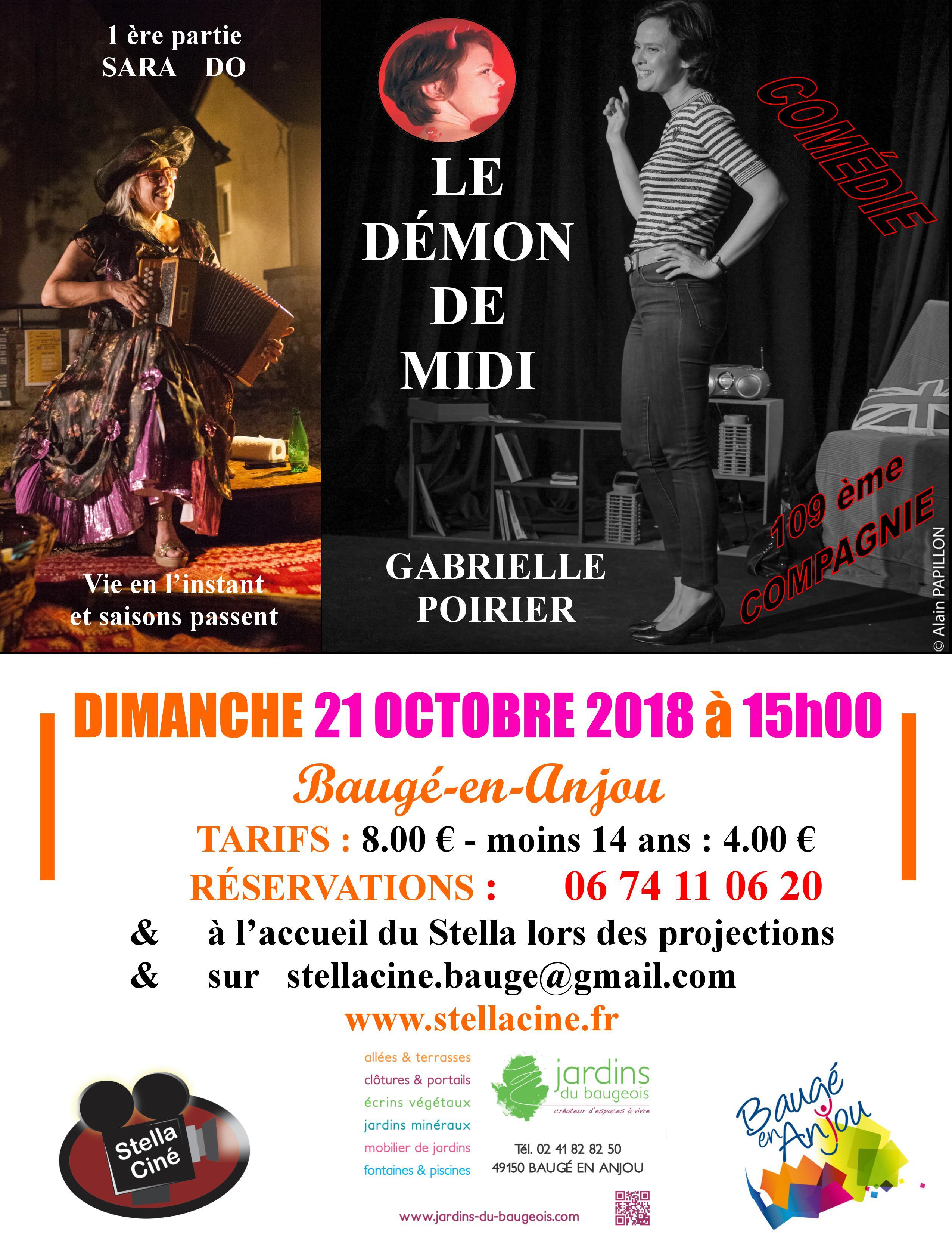 Affiche Baugé octobre 2018
