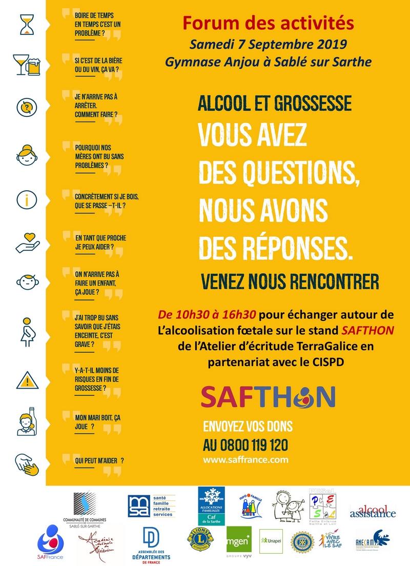 Affiche SAFTHON Forum des associations 800.JPG