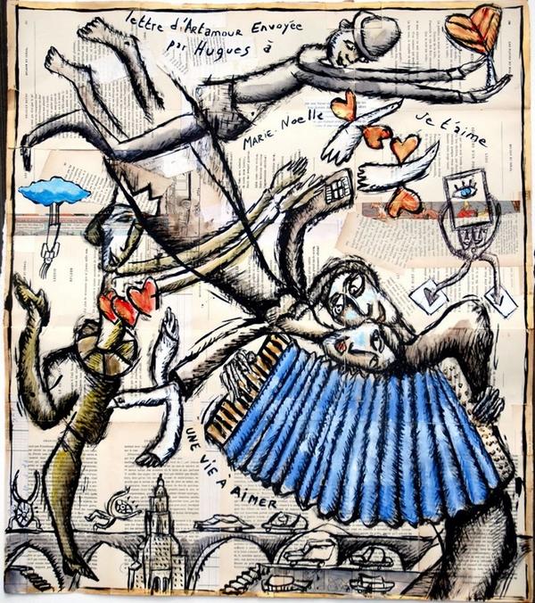 Artiste peintre Clair Arthur 600