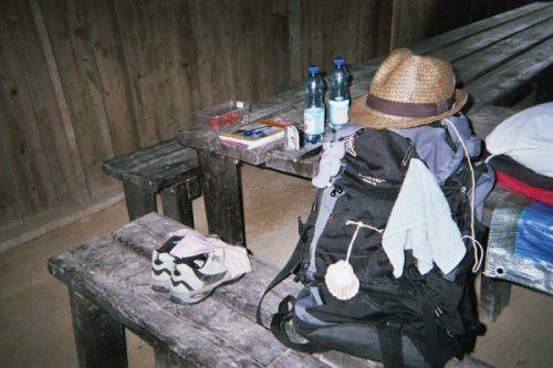 bivouac à La Butte du Montaigu