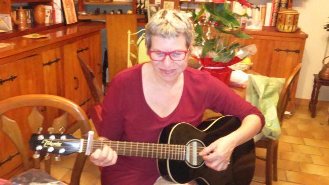 Christmas 'songs phot'à Sandra Crespin