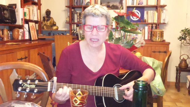Christmas songs phot'à Sandra Crespin
