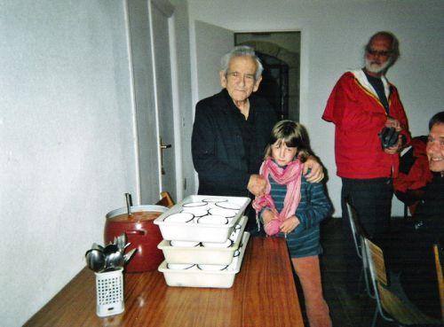 La soupe à la grimace à San Juan de Ortega