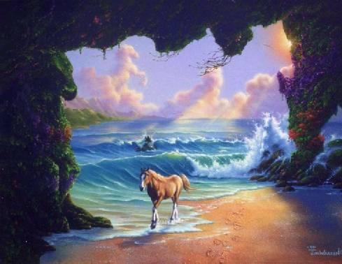 Une magnifique peinture