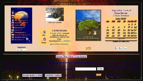 Cliquez pour agrandir et voir le Pied de page en Août 2008